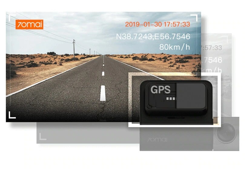 70mai GPS